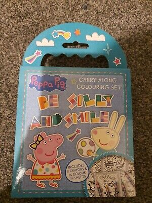 Peppa Pig Childrens Kids Character Activity Colouring Books