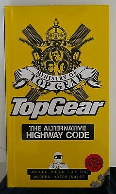 """""""AS NEW"""" Top Gear: The Alternative Highway Code, Ministry of"""