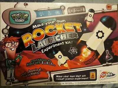 Grafix Weird Science Mini Experiment Kits - Rocket Launcher