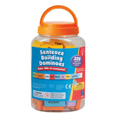 Learning Resources Sentence Building Dominoes. Brand New