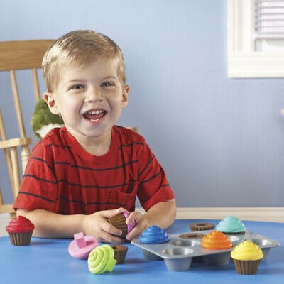 Learning Resources Smart Snacks Shape Sorting Cupcakes.