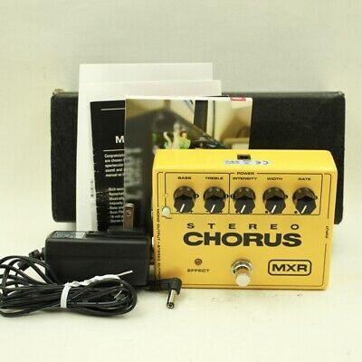 MXR Dunlop M134 Stereo Chorus With original box AC Adapter