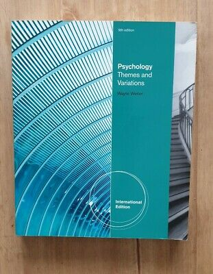Psychology: Themes & Variations by Wayne Weiten (Paperback,