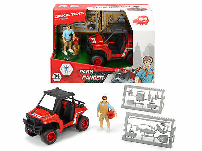 Dickie Toys Playlife Park Ranger with Quad Bike &