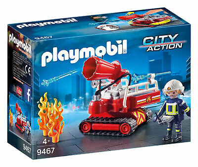 Playmobil Fire Water Cannon City Action Suitable for