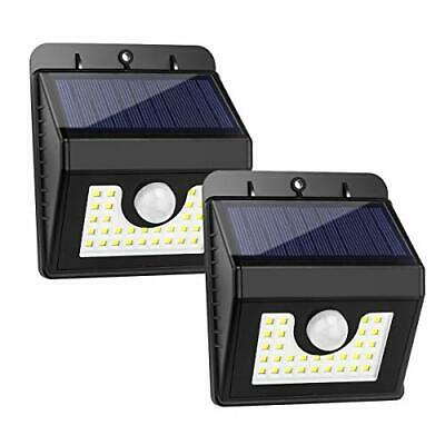 Solar Lights Outdoor, [2 Pack] LED Security Motion Sensor