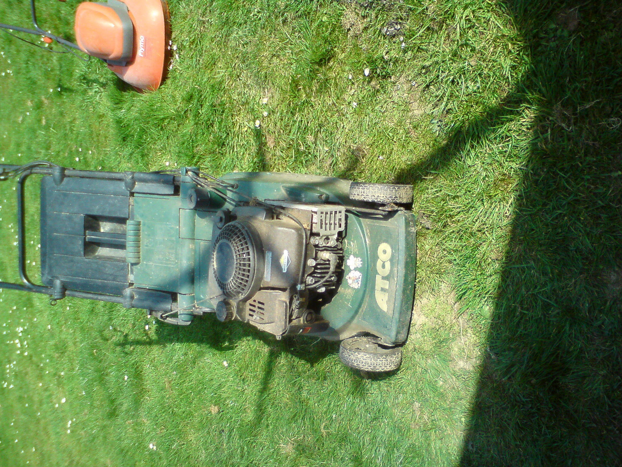 3x electric and 1x petrol mower package