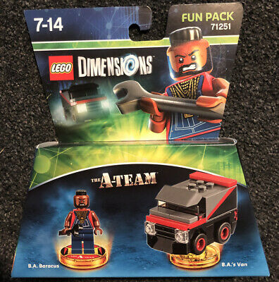 Lego Dimensions The A Team Fun Pack # *NEW & Sealed -
