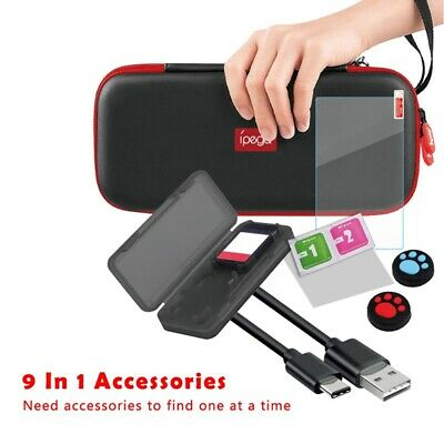 ipega 9 in 1 Accessories Set for Nintend Switch Lite with