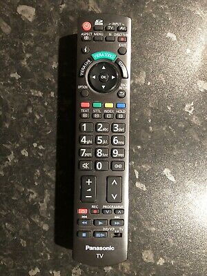 Replacement Remote Control For Panasonic TV TX-P46G10
