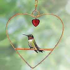 Songbird Essentials Tweet Heart Birdie Swing Copper Color