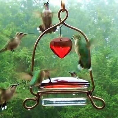 Songbird Essentials Tweet Heart Lantern Hummingbird Feeder