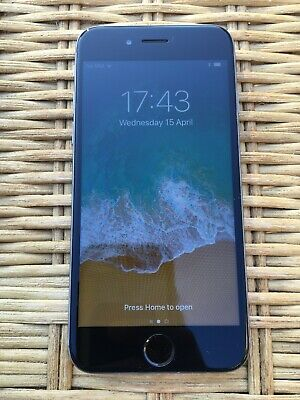 Apple iPhone 6 - 16GB - Space Grey with Black Screen