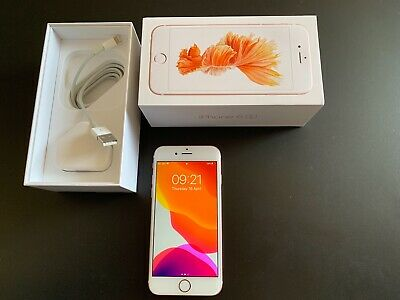 Apple iPhone 6s - 32GB - Rose Gold (locked to EE) Excellent