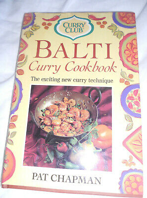 Curry Club Balti Curry Cookbook, Chapman, Pat, Very Good