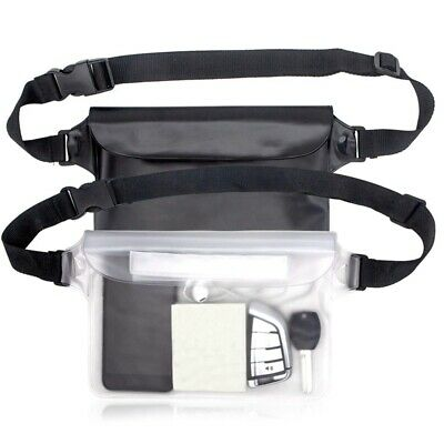Waterproof Pouch Bag Case With Adjustable Waist Strap For