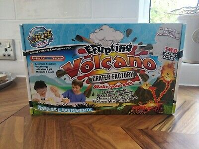 WILD SCIENCE ERUPTING VOLCANO FACTORY BY INTERPLAY - BRAND