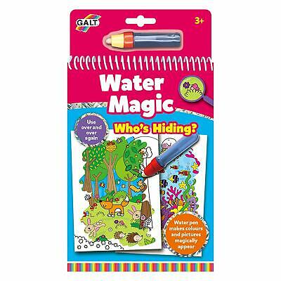 Galt Toys Water Magic Who's Hiding, Colouring Book for