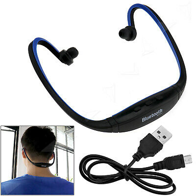 Sport GYM Wireless Stereo Bluetooth Headphones Headset