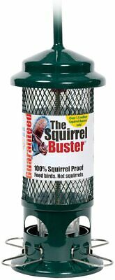The Squirrel Buster® - 100% Squirrel-Proof bird feeders