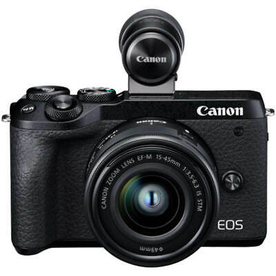 Canon M6 Mk II with m Lens + EVFDC2