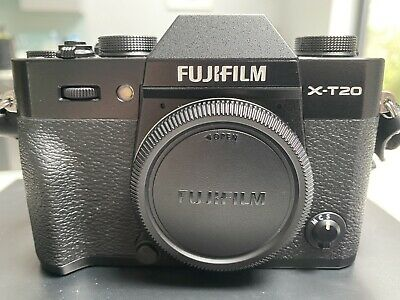 Fujifilm X-T20 Digital Camera - Black Body Only with