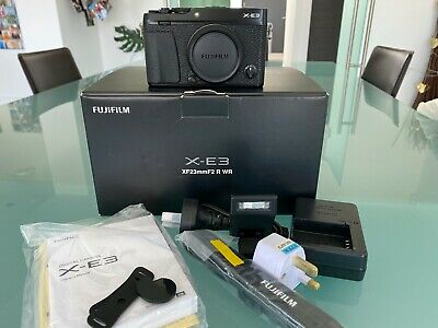 Fujifilm X series X-EMP Digital Camera - Black (Body