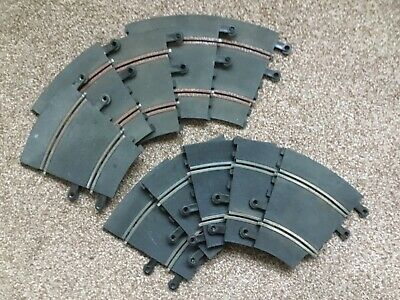 Scalextric Classic Track Curve PT54 x 10 pieces inner curve