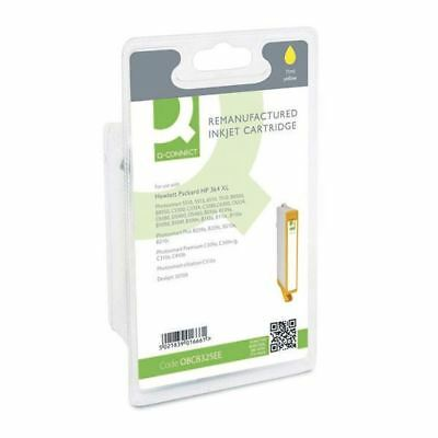 Q-Connect HP 364XL Remanufactured Yellow Inkjet Cartridge