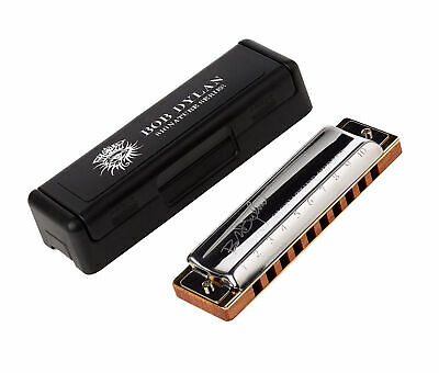 Hohner Limited Edition Bob Dylan Signature Harmonica - Key