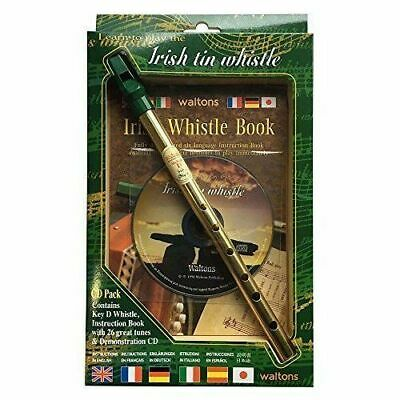 The Irish Tin Penny Whistle Learn How to Play Book With CD