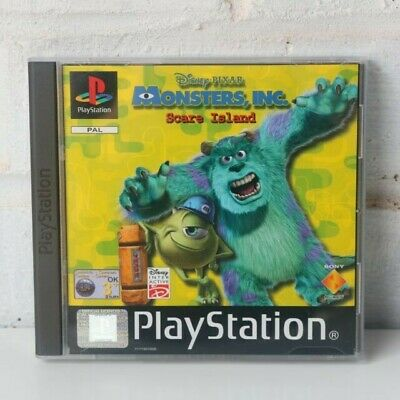 Monsters, Inc. Scare island (Sony PlayStation )