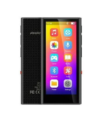 MP3 Player, 3.5 Inch Touch Display Bluetooth 5.0 MP3 Music