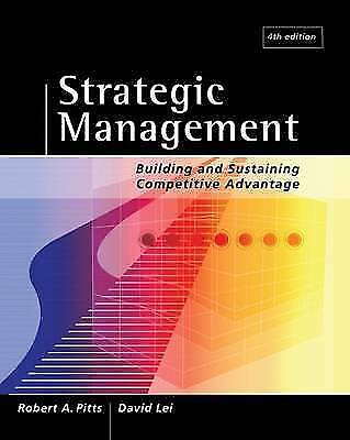 Strategic Management: Building and Sustaining Competitive