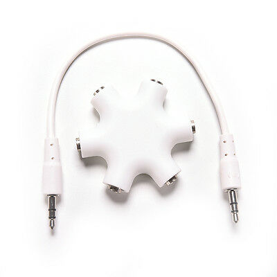 3.5mm Earphone Headphone Audio Splitter 1 Male to