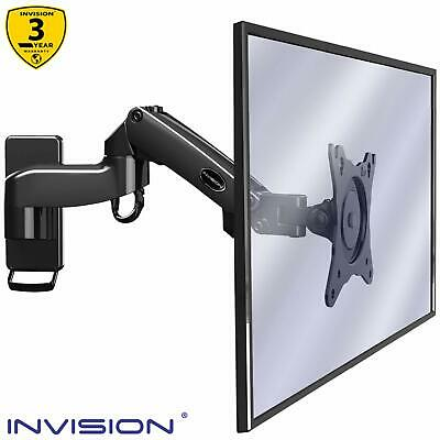 Invision Monitor Wall Mount Bracket for PC Monitor & TV - To