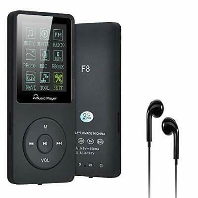 Lychee MP3 Player 70 Hours Music Playback MP3 Lossless Sound