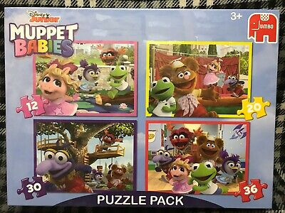 THE MUPPET BABIES - 4 JIGSAW PUZZLE SET by JUMBO
