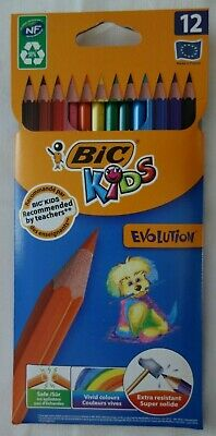 BIC Kids Evolution ECOlutions Colouring Pencils - Assorted