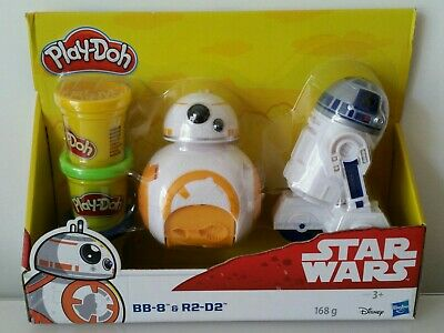 PLAY DOH STAR WARS BB-8 & R2 D2 BRAND NEW PLAYDOH TOY GIFT