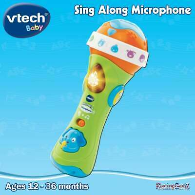 vTech Baby Tiny Touch Sing Along Microphone ith Sing Along