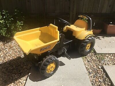 Kid's Tractor Pedal 3-5 Years JCB