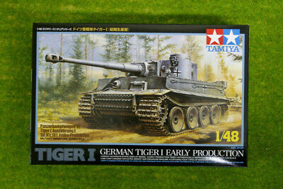 Tamiya GERMAN TIGER 1 EARLY PRODUCTION 1/48 Scale