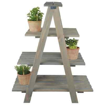 Esschert Design Plant Ladder Triangular Plant Pot Display