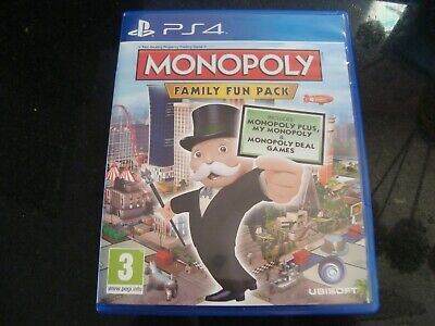 Monopoly: Family Fun Pack (Playstation ) PS4