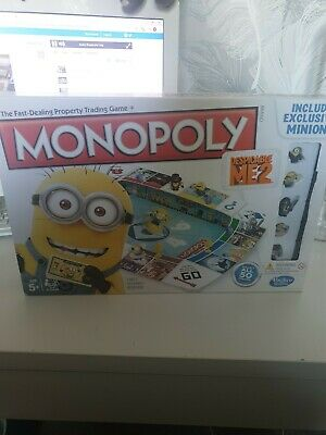 Monopoly Despicable Me 2 Edition, Fun Family Kids Party