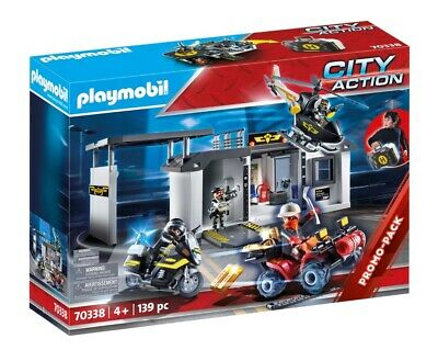 Playmobil  City Action Take Along Police Station with