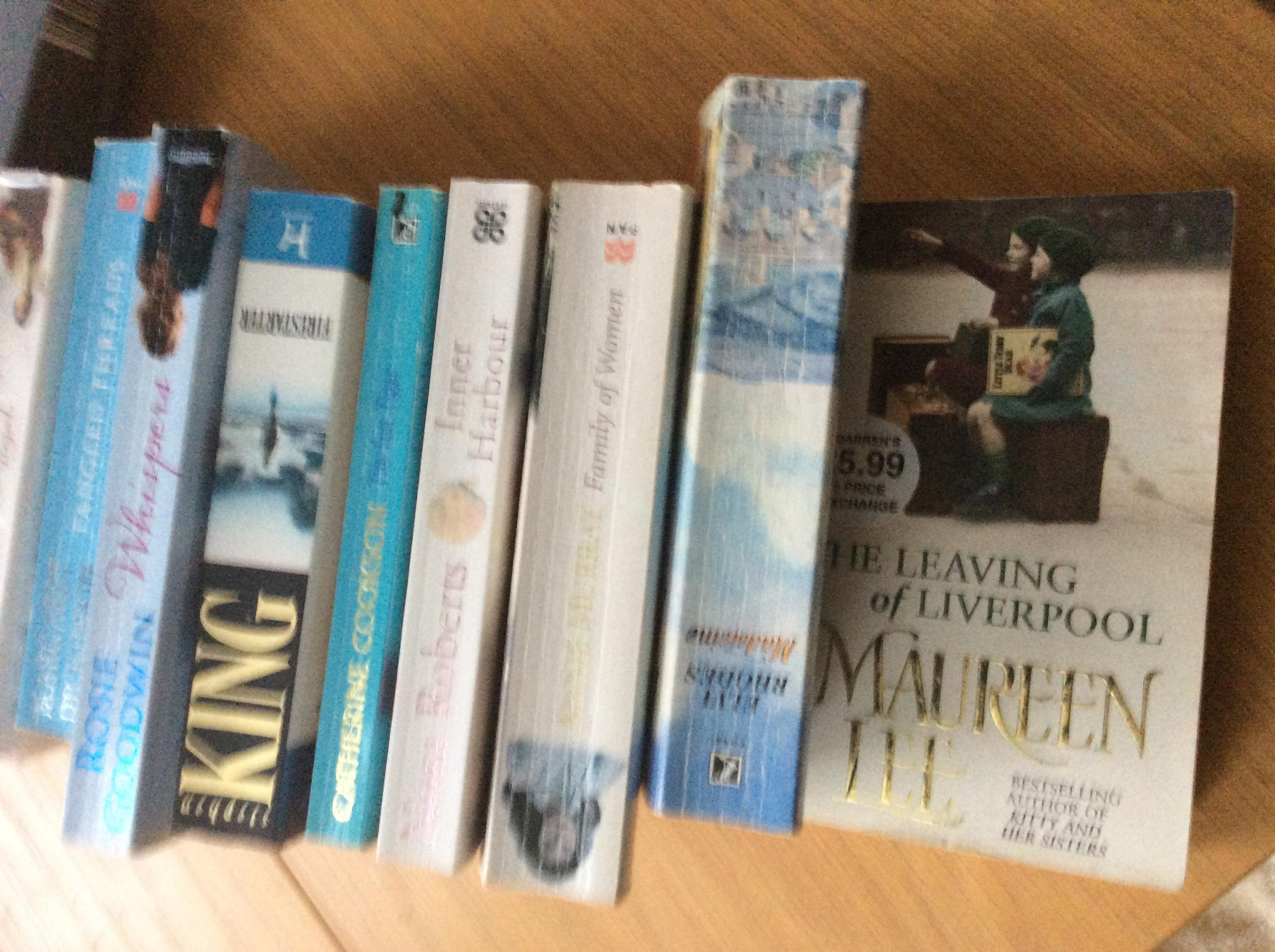 Ten assorted books good authors varied collection approx