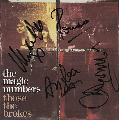 The Magic Numbers - Those the Brokes [SIGNED CD Album]