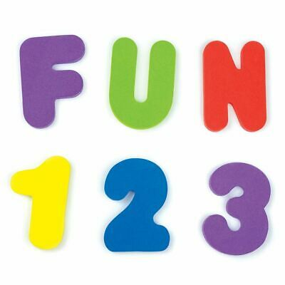 Munchkin 36 BATH LETTERS & NUMBERS Baby Toddler Bathing Bath